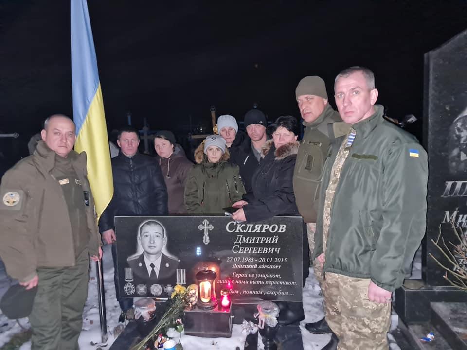 """""""Кіборг"""" з Рівного вшанував пам'ять загиблих побратимів"""